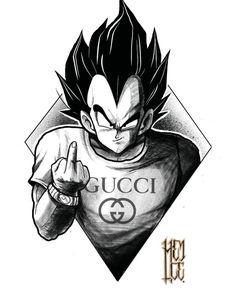 Vegeta, Gucci • Dragon Ball Super