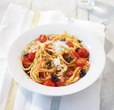 Frische Tomaten-Pasta Rezept - [ESSEN UND TRINKEN]