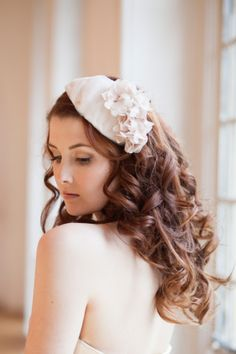 Victoria Mary Vintage Millésime ~ A New Collection of Vintage Inspired Bridal Headpieces