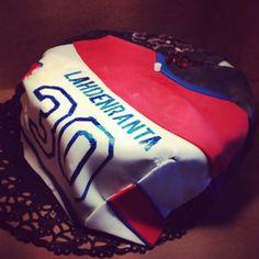 Hockeyshirt cake