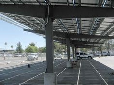 What better way to protect vehicles from the elements and harsh UV rays than to capture these rays and generate electricity and revenue from them? Solar carports can also help preserve the ground underneath, especially when an optional water-drainage system is included. Consider a solar carport for your employee or customer parking lots. A highly visible indication that you care about the environment and their cars.