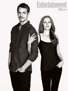 Mireille Enos and Joel Kinnaman - The Killing - Holder and Linden