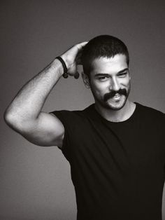 Burak Ozcivit- a mustache never looked so good :)