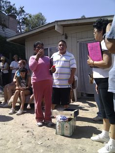The heartfelt moment where our new house recipient was at a loss of words for gratitude :) #nonprofit #charity #corazon