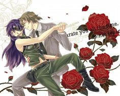 Mirai Nikki Uryuu Minene and Nishijima Masumi. Aw i found this pair surprisingly cute. He definitely brings out the good in her. ^-^