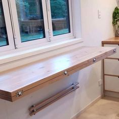 Space-Saving Solutions for Tiny Houses - Core77 Space Saving Dining Table, Space Saving Kitchen, Space Saving Furniture, Space Saving Ideas For Home, Space Saving Desk, Folding Walls, Folding Furniture, Diy Furniture, Furniture Design
