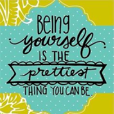 Be loud, be bold, be you! via Michele Lee #goldie-isms #inspiration