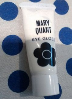 Mary Quant Eye Gloss Vintage 1960s Mod Makeup