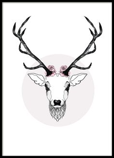 Deer, prints - 50x70Happy, posters - 21x30Polygon Deer - 21x30...