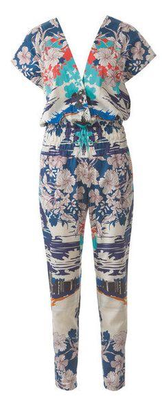 Short Sleeve Jumpsuit Sewing Pattern