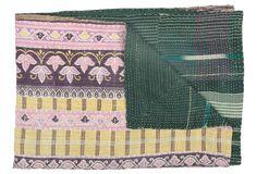 kantha quilt $179