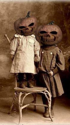 Vintage Pumpkinheads