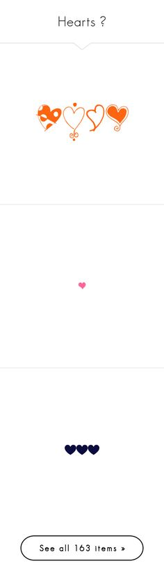 """""""Hearts 💗"""" by kim-mcculley ❤ liked on Polyvore featuring fillers, orange, orange fillers, hearts, doodles, scribble, saying, quotes, phrase and text"""