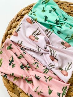 Perfect for workouts, errands, lounging and busy days that need a quick hair fix! These headbands are soft, keep sweat out of your eyes and hair back comforably all day!