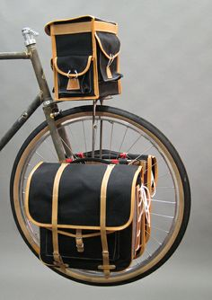 berthoud panniers and handlebar bag