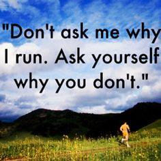 I love running!