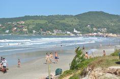 A metade da Praia de Garopaba