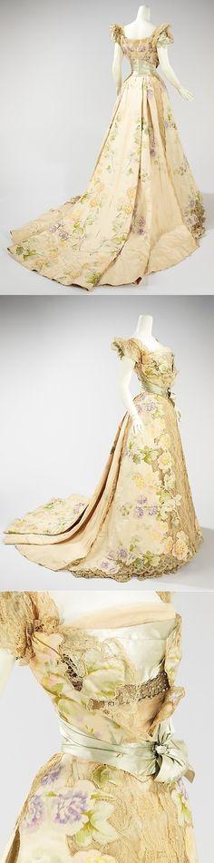 Evening dress 1902