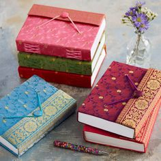 Handmade Large Sari Journal
