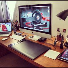 Home workspace by igse1, via Flickr