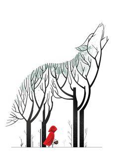 Red Riding Hood by Cristo Salgado
