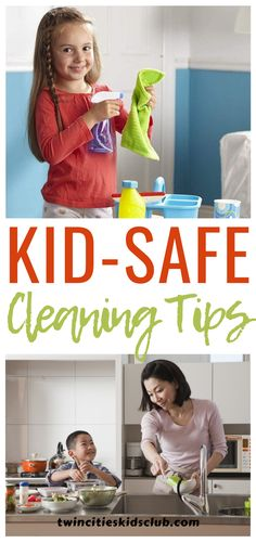Twin Cities Kids Club Blogs: Kid-Safe Cleaning Tips - Many parents are always on the lookout for kid-safe cleaning products. They want cleaning supplies that will not harm their kids, while still getting the job done. Twin Cities Kids Club has a list of kid-safe cleaning products that you can incorporate into your cleaning routine. kids, games, fungames, indoorgames, kidsactivities, gameday, gameart, gamenight, kidsroomideas, kidscrafts, parents, parenting, parentingtips Activities For 2 Year Olds, Indoor Activities, Infant Activities, Safe Cleaning Products, Cleaning Hacks, Cleaning Supplies, 3 Year Olds, Children Toys, Twin Cities