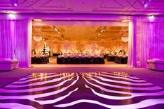 Reception Décor: Stepping Up The Dance Floor | InsideWeddings.com