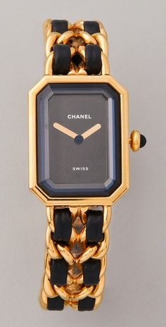 Vintage Chanel watch x Coco Chanel, Jewelry Accessories, Fashion Accessories, Fashion Clothes, Jewelry Box, Chanel Watch, Chanel Jewelry, Jewellery, Perfume