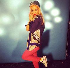 Rita ora fashion icon