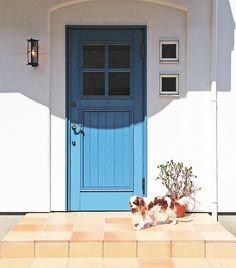 アイエム木製玄関ドア YU-1034B イメージ画像 桧無垢材