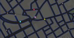 """And take Sir Pac-Man on a tour of Piccadilly Circus. 