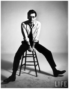 Portrait of photographer Richard Avedon New York, NY, US 1963 Alfred Eisenstaedt
