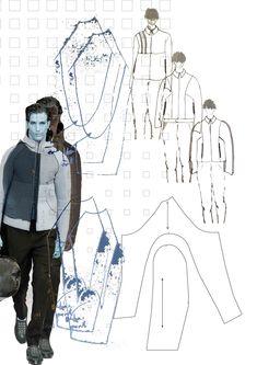 Fashion Sketchbook - fashion design drawings; creative process; fashion portfolio // Maddie Levis