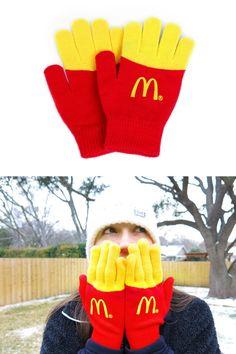 McDonald's: Fry Gloves | http://www.gutewerbung.net/mcdonalds-fry-gloves/ #Advertising