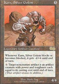 Karn, Silver Golem from Urza's Saga at TCGplayer.com as low as $2.73