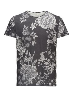 - Slim fit for a sleek silhouette - Comfortable cotton material - Toned down all-over winter floral print - The model is wearing a size L and is 187 cm tall - ORIGINALS by JACK & JONES
