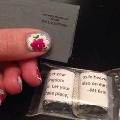 Wedding Gift Ideas For Jehovah Witness : ... Gifts for Delegates on Pinterest Small gifts, Bookmarks and Magnets