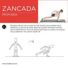 ¡A trabajar los glúteos! Prepárate para un ejercicio que además de estirarte, te dará un trabajo en tus glúteos.
