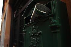 Cassetta della posta, #Green in #Rome