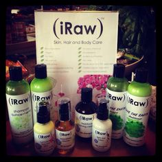 iRaw is an amazing range of raw, vegan and divine skin care