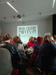La rentrée des auteurs et des illustrateurs en Auvergne-Rhône-Alpes. Journée rencontre organisée par le Transfo et l'Arald, très intéressant ! :)