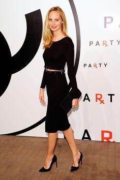 Lauren Santo Domingo's High-Fashion Elegance