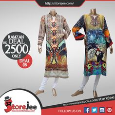 Storejee introduced its Ramzan deals To order visit our facebook page www.facebook.com/storejee #clothes #fashion #Poshaak #Summer #Lawn #ladies #Printed #Unstitched #dress #karachi #pakistan #onlinestore #like #follow #Ramzandeals #Ramzanoffers
