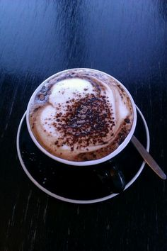 Mocha from Seven Cafe.