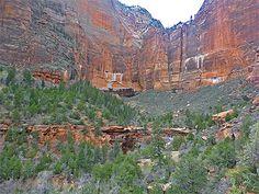 Emerald Pools and the Kayenta Trail, Zion National Park, Utah