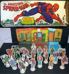 Spiderman play set from Ideal
