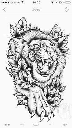 lion tattoos new school & lion tattoos new school Lion Head Tattoos, Tiger Tattoo, Body Art Tattoos, Sleeve Tattoos, Graffiti Tattoo, Tattoo Sketches, Tattoo Drawings, Traditional Lion Tattoo, Tattoo Painting
