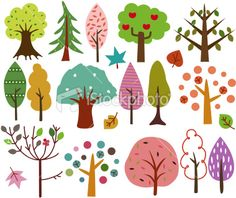 clipart trees - Google Search