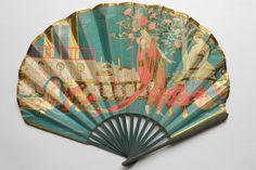 Pruniers soupers, éventail de Benda 1913 - Catalogue Eventails publicitaires - Fan déventails