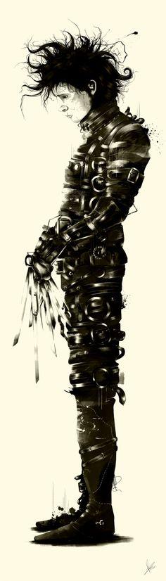https://www.behance.net/gallery/Tribute-to-Tim-Burton/11076247